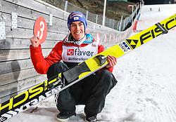18.03.2017, Vikersundbakken, Vikersund, NOR, FIS Weltcup Ski Sprung, Raw Air, Vikersund, Team Skifliegen, im Bild Welrekordhalter Stefan Kraft (AUT), 253,5 m // Recordman Stefan Kraft of Austria, 253,5 m // during the Team Event of the 4th Stage of the Raw Air Series of FIS Ski Jumping World Cup at the Vikersundbakken in Vikersund, Norway on 2017/03/18. EXPA Pictures © 2017, PhotoCredit: EXPA/ Tadeusz Mieczynski