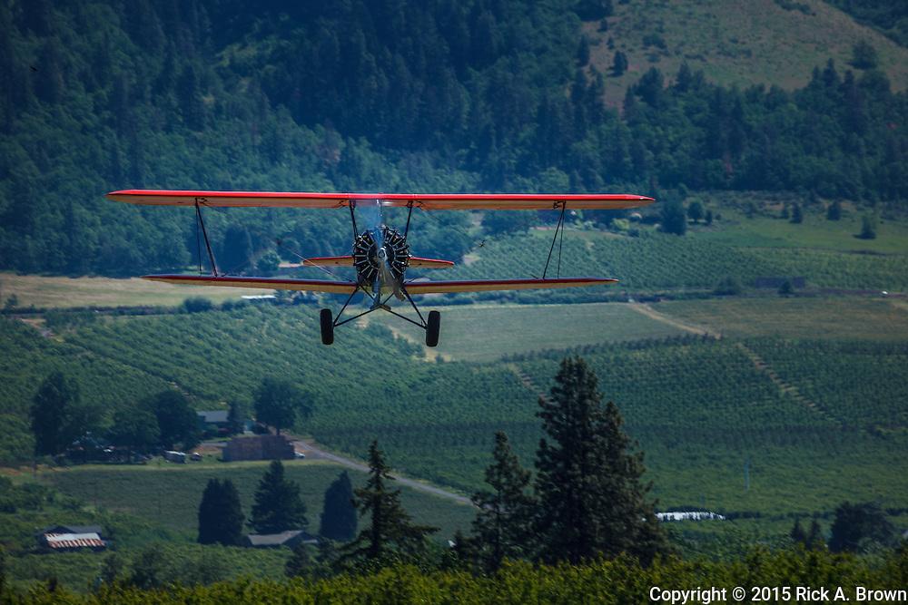 1929 Travel Air 4000 landingT at WAAAM.