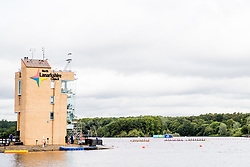 August 3, 2018 - Glasgow, UNITED KINGDOM - 180803 General view of the start area of Strathclyde Country Park during the European Championships on August 3, 2018 in Glasgow..Photo: Jon Olav Nesvold / BILDBYRÃ…N / kod JE / 160281 (Credit Image: © Jon Olav Nesvold/Bildbyran via ZUMA Press)
