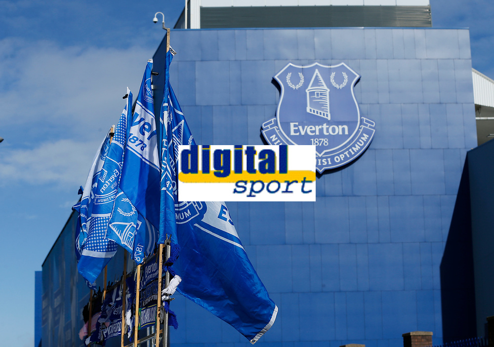 Football - 2019 / 2020 Premier League - Everton vs. Manchester United<br /> <br /> General view of the main stand before today's game, at Goodison Park.<br /> <br /> COLORSPORT/ALAN MARTIN