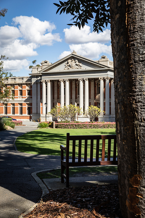 The Old Supreme Court of Western Australia, in Supreme Court Gardens Perth,Thursday August 20, 2020.