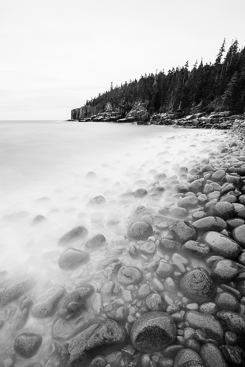 Boulder Beach and Otter Cliffs, Acadia National Park, Maine