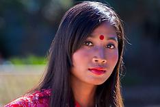 Lady Portraits, Nagaland, India