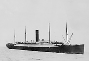 HMS Carpahia The ship which rescued victims of the Titanic disaster 1912