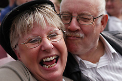 Couple of Community Care Project users; having fun on a daytrip,