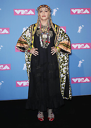 August 21, 2018 - New York City, New York, USA - 8/20/18.Madonna at the 2018 MTV Video Music Awards at Radio City Music Hall in New York City. (Credit Image: © Starmax/Newscom via ZUMA Press)