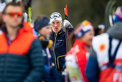 February 24, 2019 - Seefeld In Tirol, AUSTRIA - 190224 Calle Halfvarsson of Sweden looks dejected after the men's team sprint final during the FIS Nordic World Ski Championships on February 24, 2019 in Seefeld in Tirol..Photo: Vegard Wivestad Grøtt / BILDBYRÃ…N / kod VG / 170296 (Credit Image: © Vegard Wivestad GrØTt/Bildbyran via ZUMA Press)