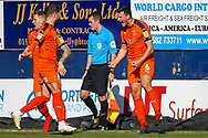 Goal 1-0 Luton Town defender Matthew Person scores the first goal and celebrates during the EFL Sky Bet League 1 match between Luton Town and Coventry City at Kenilworth Road, Luton, England on 24 February 2019.