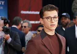 Tom Holland at the World premiere of 'Spider-Man Far From Home' held at the TCL Chinese Theatre in Hollywood, USA on June 26, 2019.