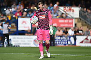 Wycombe Wanderers goalkeeper Ryan Allsop (1) during the EFL Sky Bet League 1 match between Wycombe Wanderers and Oxford United at Adams Park, High Wycombe, England on 15 September 2018.