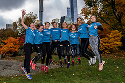 03-11-2018 USA: NYC Marathon We Run 2 Change Diabetes day 2, New York<br /> day before the marathon the usual photo shoot in Central Park / The girls