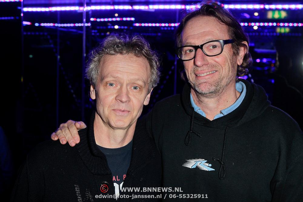 NLD/Amsterdam/20120130 - CD presentatie Lange Frans, Fluitsma & van Tijn, Eric van Tijn en Jochem Fluitsma