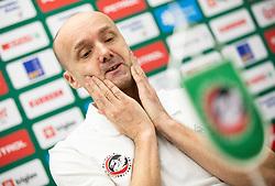 Jure Zdovc introduced as a new coach of KK Petrol Olimpija, on February 20, 2019 in Arena Stozice, Ljubljana, Slovenia. Photo by Vid Ponikvar / Sportida