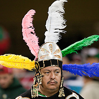 16 March 2009: A fan cheers for Team Mexico during the 2009 World Baseball Classic Pool 1 game 3 at Petco Park in San Diego, California, USA. Cuba wins 7-4 over Mexico.