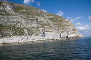 Ballard Point headland, Dorset, England