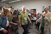 MARTIN PARR; MIK ARTISTIK,, Opening of the Martin Parr Foundation party,  Martin Parr Foundation, 316 Paintworks, Bristol, BS4 3 EH  20 October 2017