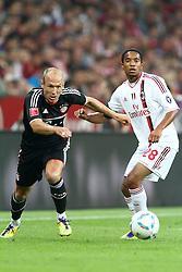 26-07-2011 VOETBAL: AUDI CUP 2011 FC BAYERN MUNCHEN - AC MILAN: MUNCHEN<br /> Urby Emanuelson (Milan #28) <br /> ***NETHERLANDS ONLY***<br /> ©2011-FRH- NPH/Straubmeier