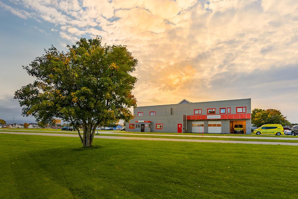 Legevakt og ambulansesentral på Brekstad i Ørland kommune, Trøndelag.