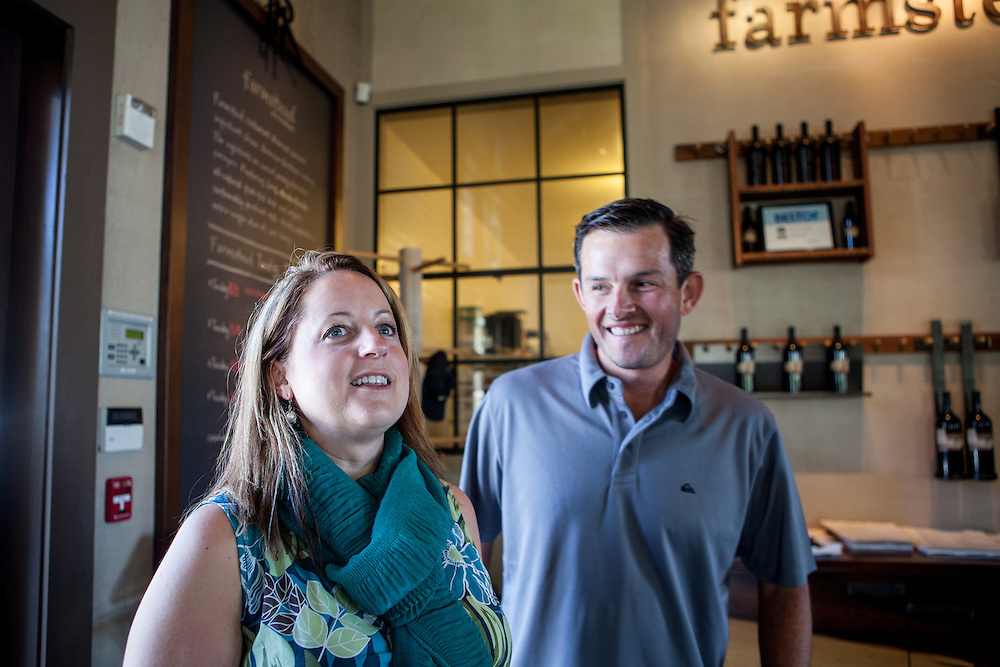 Adrienne LaGier Forgette and her husband Chris Forgette visit Napa Valley during their honeymoon following the Nautica Malibu, California triathlon. Adrienne participated on the CNN Lucky 7 team with Dr. Sanjay Gupta.