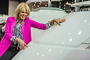 Joanna Lumley,aboard the new 66,  opens the Sunseeker stand alond with singing quartet Jack Black - The London Boat Show opens at the Excel centre. London 06 Jan 2017 Joanna Lumley,aboard the new 66, opens the Sunseeker stand alond with singing quartet Jack Pack - The London Boat Show opens at the Excel centre. London 06 Jan 2017