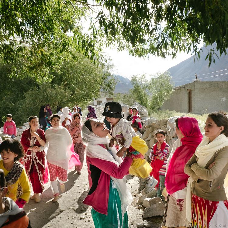Zahir and Mariyam wedding celebration (love marriage), Zood Khun village, Chapursan valley.