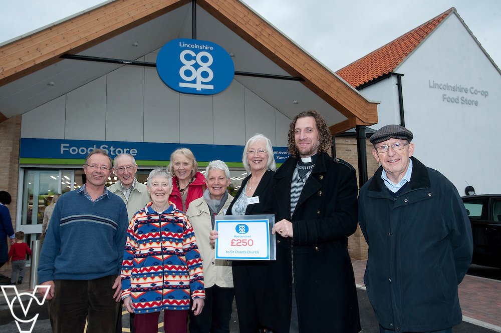 Official opening of the Lincolnshire Co-operative's new foodstore in Dunholme.<br /> <br /> Thursday, October 23, 2014