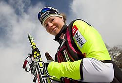 Vesna Fabjan during media day of Slovenian Nordic Cross country team, on October 21, 2010 in Ramsau am Dachstein, Austria. (Photo By Vid Ponikvar / Sportida.com)