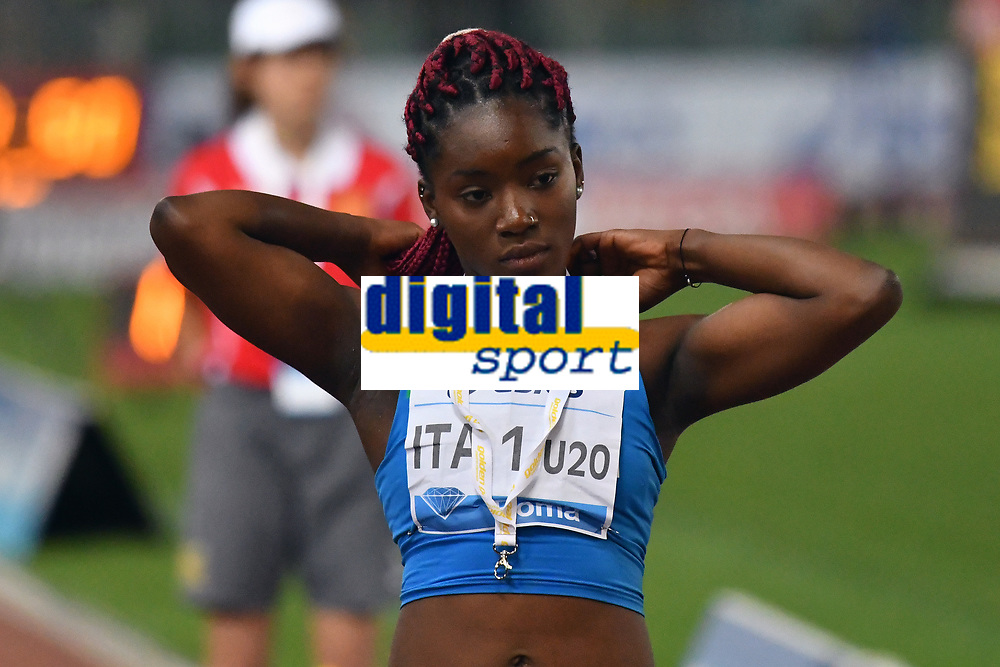 Audrey ALLOH ITA 4x100m Relay Women <br /> Roma 03-06-2016 Stadio Olimpico <br /> IAAF Diamond League Golden Gala <br /> Atletica Leggera<br /> Foto Andrea Staccioli / Insidefoto