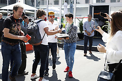 October 25, 2018 - Mexico-City, Mexico - Motorsports: FIA Formula One World Championship 2018, Grand Prix of Mexico, ..#14 Fernando Alonso (ESP, McLaren F1 Team) (Credit Image: © Hoch Zwei via ZUMA Wire)