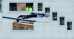31.12.2016, Olympiaschanze, Garmisch Partenkirchen, GER, FIS Weltcup Ski Sprung, Vierschanzentournee, Garmisch Partenkirchen, Qualifikation, im Bild Andreas Wellinger (GER) // Andreas Wellinger of Germany during his Qualification Jump for the Four Hills Tournament of FIS Ski Jumping World Cup at the Olympiaschanze in Garmisch Partenkirchen, Germany on 2016/12/31. EXPA Pictures © 2016, PhotoCredit: EXPA/ Jakob Gruber