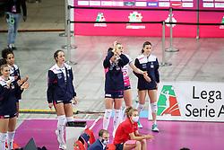 NOVARA ESULTA<br /> FINAL FOUR COPPA ITALIA PALLAVOLO FEMMINILE<br /> RIMINI 14-03-2021<br /> FOTO FILIPPO RUBIN / LVF