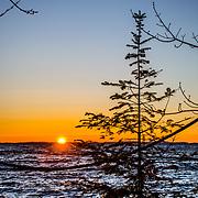 Early Sunrise Lake Superior