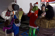 Town of Wallkill, New York - People enjoy the annual Town of Wallkill  Holiday Parade and Tree Lighting on Nov. 30, 2013.