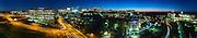 Evining panorama of the Tyson Corner area in McLean Virginia