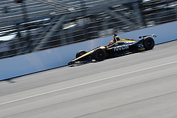 April 30, 2018 - Indianapolis, IN, U.S. - INDIANAPOLIS, IN - APRIL 30: James Hinchcliffe (5) during an Open Test on April 30, 2018, at the Indianapolis Motor Speedway in Indianapolis, IN. (Photo by James Black/Icon Sportswire) (Credit Image: © James Black/Icon SMI via ZUMA Press)