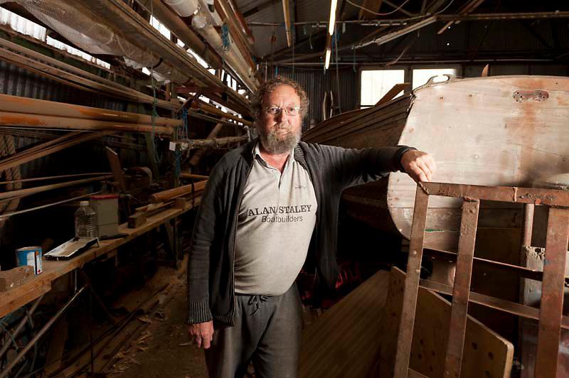 112112/10 Sea People Project - Alan Staley, Boat Builder, Chambers Wharf, Faversham, Kent