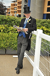 The EARL OF DERBY at the Royal Ascot racing festival 2009 held on 17th June 2009.