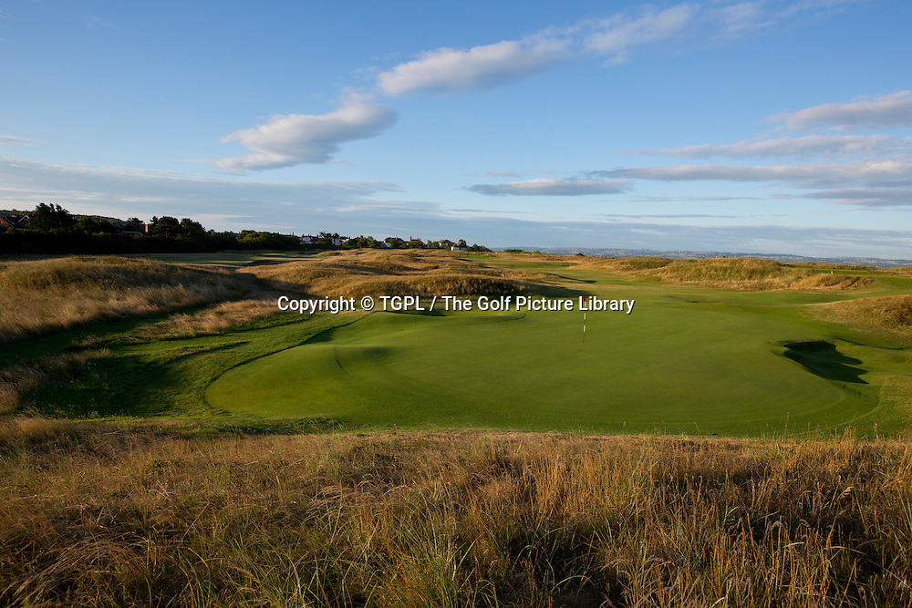 11th par 4 Royal Liverpool during autumn 2013,Hoylake,Whirral,England.Venue for The Open Championship 2014.