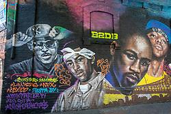 Rap Artists Mural, Santiago