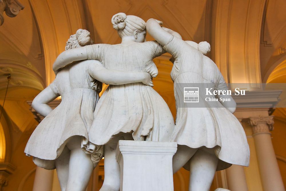 Statue inside Winter Palace, St. Petersburg, Russia
