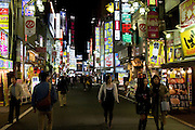 The storm of neon in Kabukicho is pretty as in your face as Tokyo gets!.