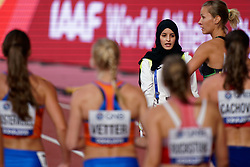 02-10-2019 QAT: World Championships Athletics, Doha<br /> The 2019 IAAF World Athletics Championships is the seventeenth edition of the biennial, global athletics competition organized by the International Association of Athletics Federations / Court official, item