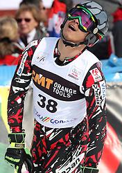 Akira Sasaki at 9th men's slalom race of Audi FIS Ski World Cup, Pokal Vitranc,  in Podkoren, Kranjska Gora, Slovenia, on March 1, 2009. (Photo by Vid Ponikvar / Sportida)