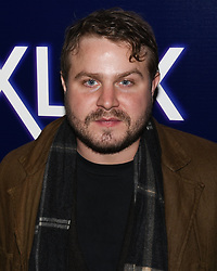December 5, 2018 - Hollywood, California, USA - BRADY CORBET attends the premiere of Neon's 'Vox Lux' at ArcLight Hollywood in Los Angeles, California. (Credit Image: © Billy Bennight/ZUMA Wire)