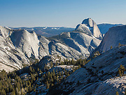 Yosemite National Park.  Half Dome and Cloud;'s Rest from Olmstead Point