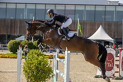 Thiry Manuel, BEL, Vivolenska<br /> Belgian Championship 7 years old horses<br /> SenTower Park - Opglabbeek 2020<br /> © Hippo Foto - Dirk Caremans<br />  13/09/2020