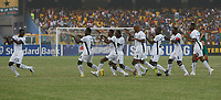 Photo: Steve Bond/Richard Lane Photography.<br />Ghana v Morocco. Africa Cup of Nations. 28/01/2008. Michael Essien celebrates his opening goal