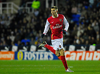 Photo: Leigh Quinnell/Sportsbeat Images.<br /> Reading v Arsenal. The FA Barclays Premiership. 12/11/2007. Nicklas Bendtner in action for Arsenal.