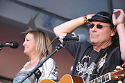 JC & Laney concert at 2011 Tucson Folk Festival.