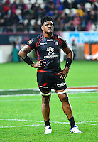 Iosefa TEKORI - 24.04.2015 - Stade Francais / Stade Toulousain - 23eme journee de Top 14<br />